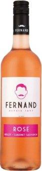 Víno Merlot a Cabernet Sauvignon Rosé Pays D'Oc Fernand