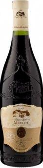 Víno Merlot Augustiniánský sklep - pozdní sběr