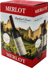 Víno Merlot - bag in box