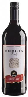 Víno Merlot Borgia