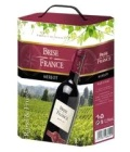 Víno Merlot Brise de France - bag in box