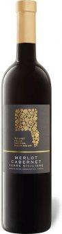 Víno Merlot Cabernet Terre Siciliane