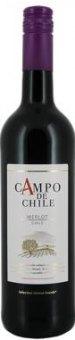 Víno Merlot Campo de Chile