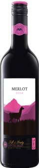Víno Merlot Chile Cimarosa