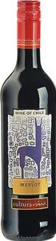 Víno Merlot Cultura Vini