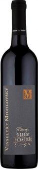 Víno Merlot Cuvée Vinselekt Michlovský - pozdní sběr