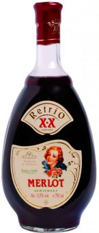Víno Merlot Grand Retrio