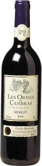 Víno Merlot Les Ormes de Cambras