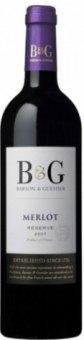 Víno Merlot Reserve B&G