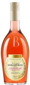 Víno Merlot Rosé Gold Bostavan