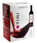 Víno Merlot Tini - bag in box