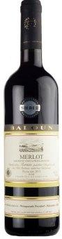 Víno Merlot Vinařství Baloun - pozdní sběr