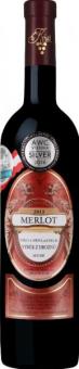 Víno Merlot Vinařství Krist Milotice - výběr z hroznů