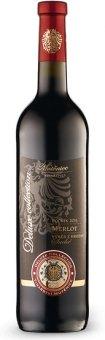 Víno Merlot Vinařství Mutěnice - výběr z hroznů