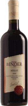 Vino Merlot Vinařství Pavel Binder - pozdní sběr
