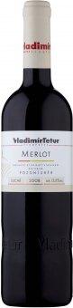 Víno Merlot Vinařství Vladimír Tetur - pozdní sběr