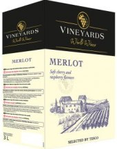 Víno Merlot Vineyards World Wines - bag in box