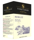 Víno Merlot Vineyards World Wines - bag in box