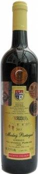 Víno Modrý Portugal Barrique Vinařství Dufek - pozdní sběr