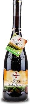 Víno Modrý Portugal bio Templářské sklepy Čejkovice - pozdní sběr