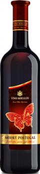 Víno Modrý Portugal Motýl Víno Mikulov