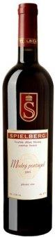 Víno Modrý Portugal Spielberg - svatomartinské