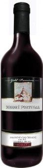 Víno Modrý Portugal Vinařství Blatel