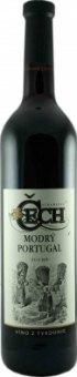 Víno Modrý Portugal Vinařství Čech - zemské