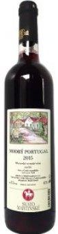 Víno Modrý Portugal Vinařství František Mádl - svatomartinské