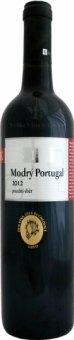 Víno Modrý portugal Vinařství Kosík - pozdní sběr