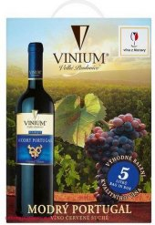 Víno Modrý Portugal Vinium Velké Pavlovice - bag in box