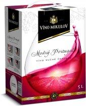 Víno Modrý portugal Víno Mikulov - bag in box