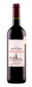 Víno červené Montagne Saint - Emilion 2011 Chateau Haut Plaisance