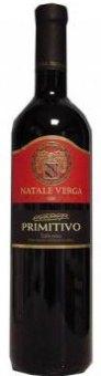 Víno Montepulciano Primitivo Natale Verga