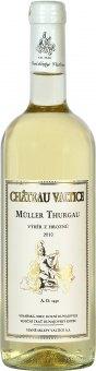Víno Müller Thurgau Chateau Valtice - výběr z hroznů