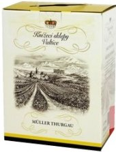 Víno Müller Thurgau Knížecí vinné sklepy - bag in box