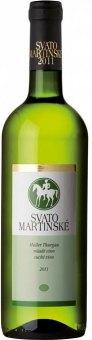 Víno Müller Thurgau - svatomartinské