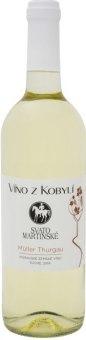 Víno Müller Thurgau Víno z Kobylí - svatomartinské