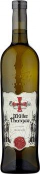 Víno Müller Thurgau Templářské sklepy Čejkovice