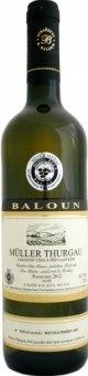 Víno Müller Thurgau Vinařství Baloun - pozdní sběr