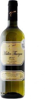 Víno Müller Thurgau Vinařství Maděřič - pozdní sběr