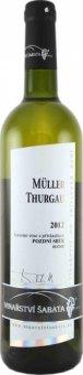 Víno Müller Thurgau Vinařství Zaječí - pozdní sběr