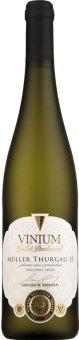 Víno Müller Thurgau Vinium Exclusive Morava Velké Pavlovice - pozdní sběr