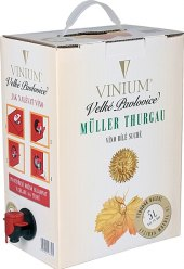 Víno Müller Thurgau Vinium Velké Pavlovice - bag in box