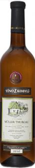 Víno Müller Thurgau Víno z Kobylí - pozdní sběr