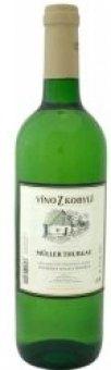 Víno Müller Thurgau Víno z Kobylí