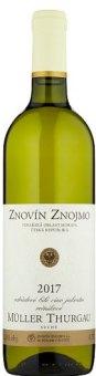 Víno Müller Thurgau Znovín Znojmo
