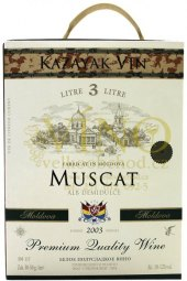 Víno Muscat Kazayak - bag in box