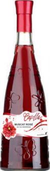 Víno Muscat Rosé Capella