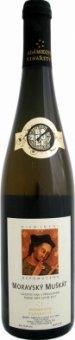 Víno Muškát moravský Adámkovo vinařství - pozdní sběr